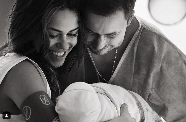 Галина Ржаксенская поделилась первыми снимками новорожденной дочери