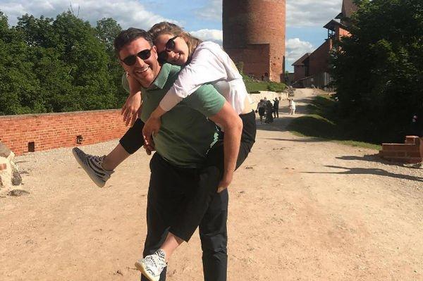 Максим Виторган решил отпраздновать день рождения Ксении Собчак за границей