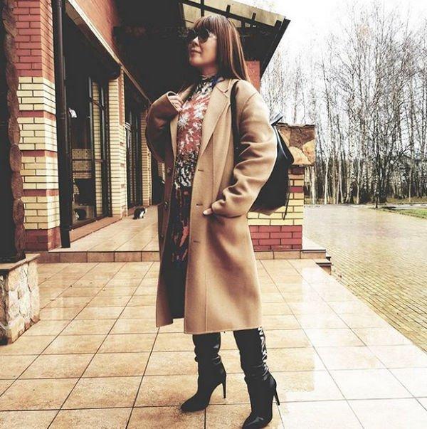 Анита Цой снова ведет борьбу с лишними килограммами