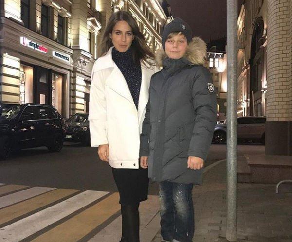 Старший сын Юлии Барановских удивил своим сходством с отцом Андреем Аршавиным