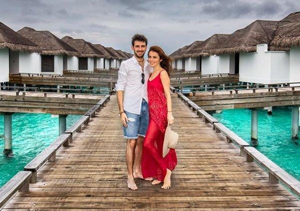 Сати Казанова показала фотографии со свадебного путешествия