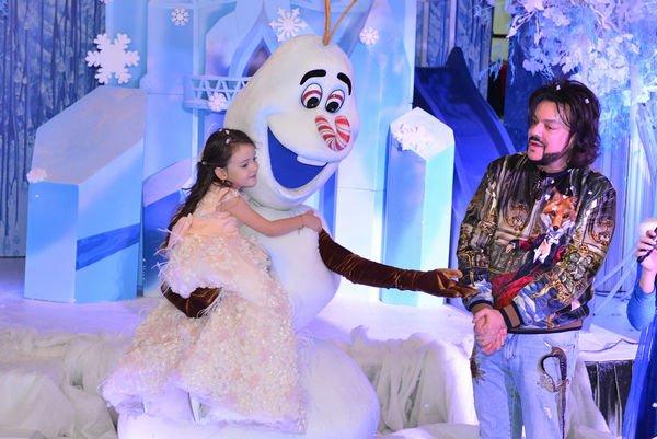 Филипп Киркоров организовал роскошный день рождения для дочери