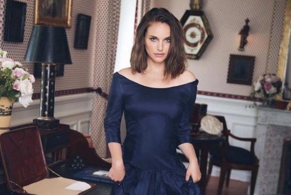 Натали Портман в бархатном платье произвела фурор