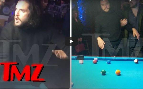 Пьяный Кит Харингтон оскандалился в баре