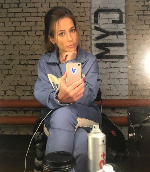 Юлия Барановская играет свою первую роль в большом кино