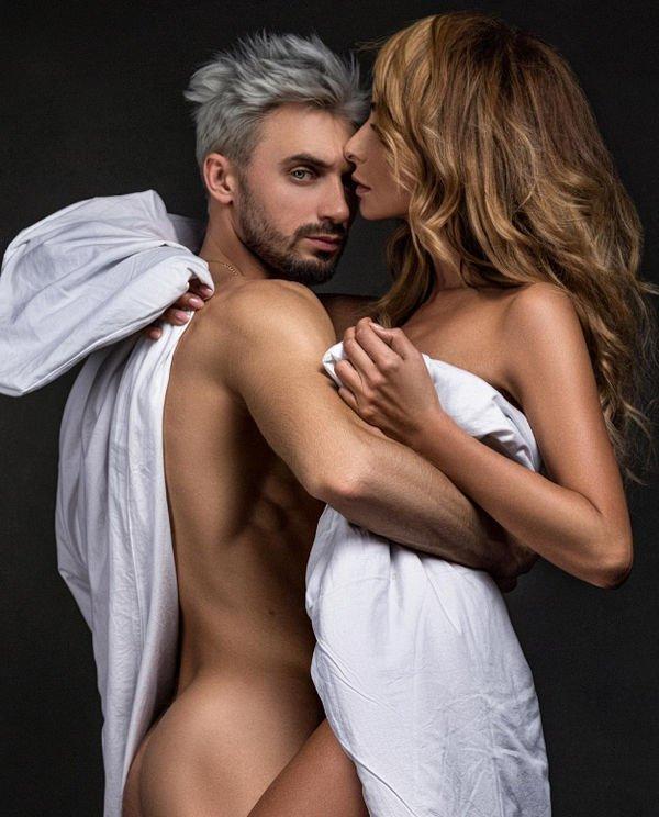 Обнаженная Екатерина Варнава поделилась откровенным снимком с возлюбленным