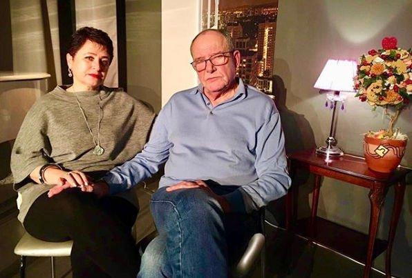 Новорожденная дочь довела дослез 78-летнего Виторгана