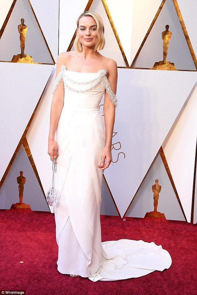 Марго Робби на красной дорожке «Оскар-2018»