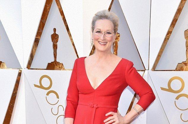 Мерил Стрип на красной дорожке «Оскар-2018»