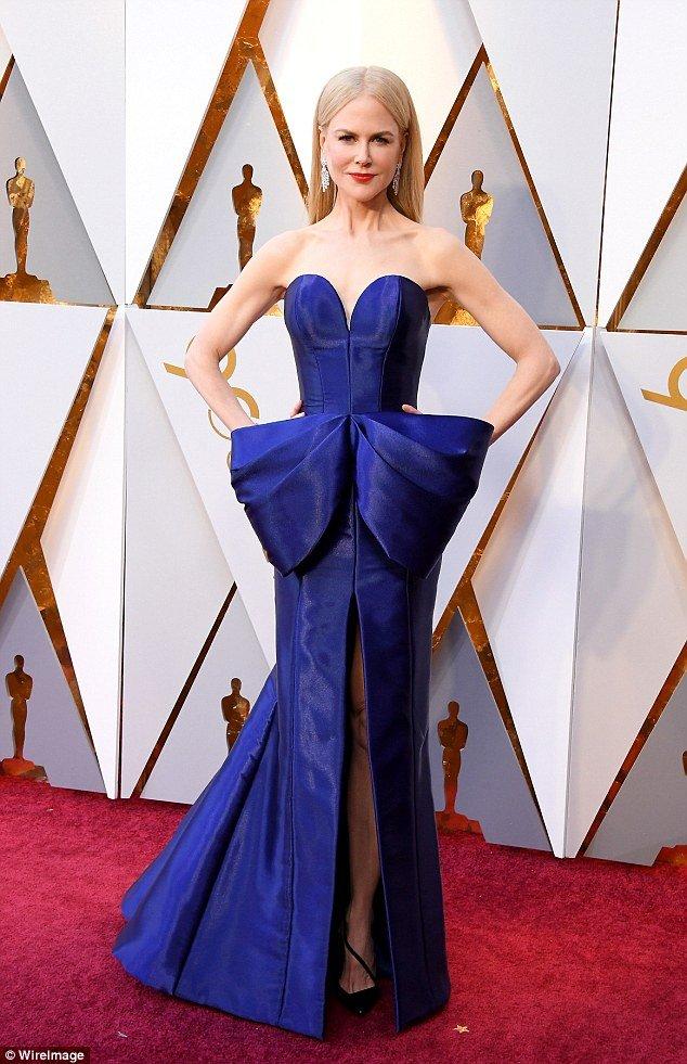 Николь Кидман на красной дорожке «Оскар-2018»