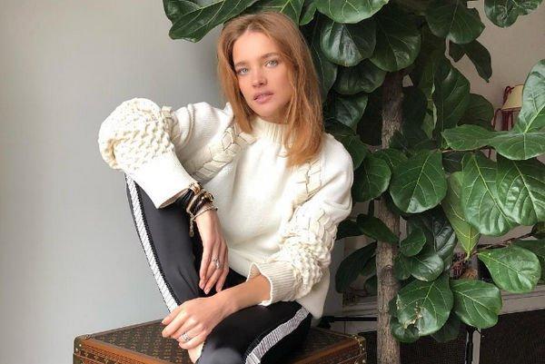 Наталья Водянова сообщила о том, на кого старается равняться