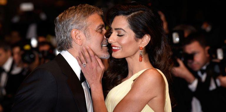 Фотографы запечатлели Амаль Клуни в образе настоящей леди