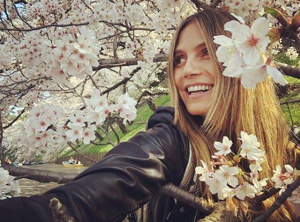 Хайди Клум продемонстрировала роскошные формы на обнаженном фото