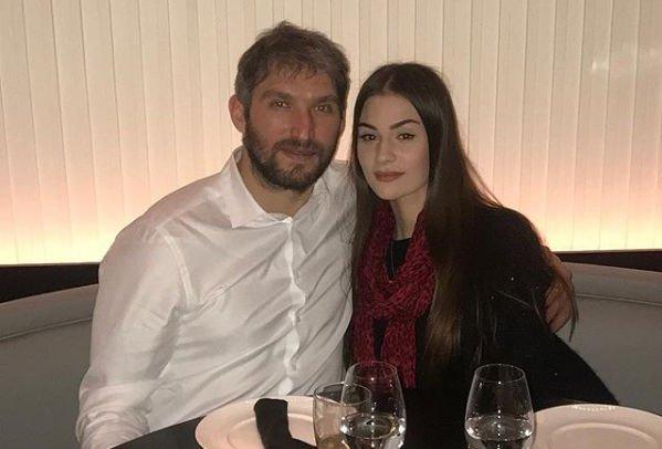 Александр Овечкин преподнес жене подарок за 40000 евро