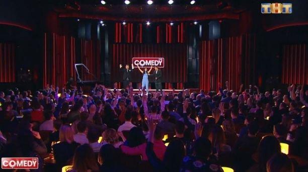 Анастасия Барашкова провела тренинг гостям Comedy Club