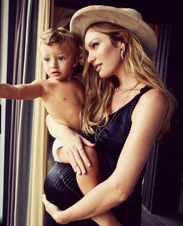 Беременная Кэндис Свейнпол полностью разделась ради снимка в Instagram