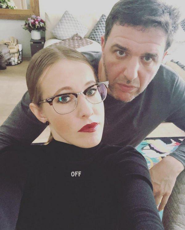 Ксения Собчак отреагировала на слухи о проблемах в семье
