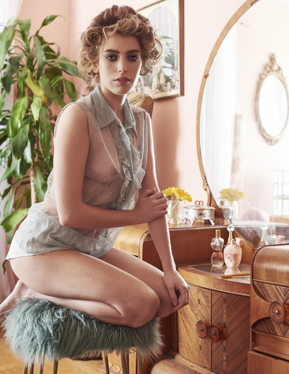 22-летняя дочь Эвана Макгрегора обнажилась для Playboy