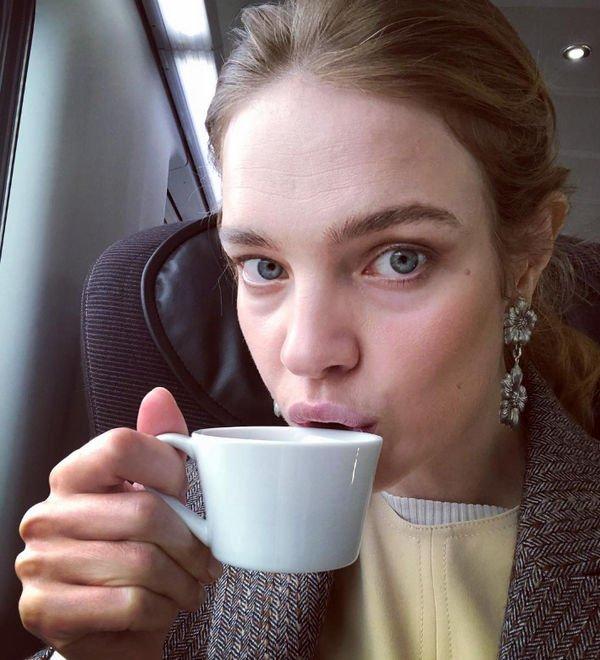 Наталья Водянова не скрывает своих морщин с помощью ретуши