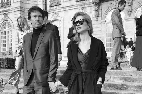 Наталья Водянова и Антуан Арно примерили на себя образ 80-х