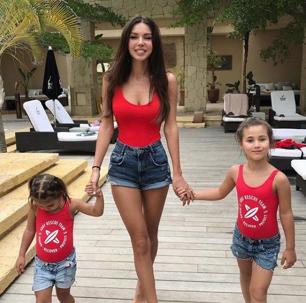 Оксана Самойлова пожаловалась на характер дочери