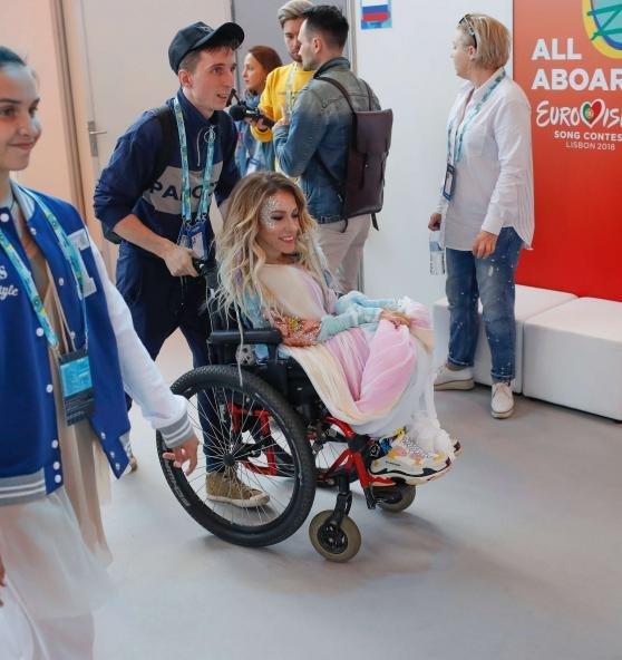 Юлия Самойлова осталась без финала «Евровидения-2018»