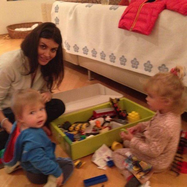 Супруга Андрея Аршавина провела отпуск с его детьми от бывшей жены