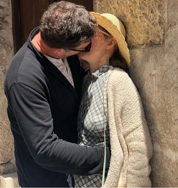 Ксения Собчак и Максим Виторган показали на фото свои пылкие чувства