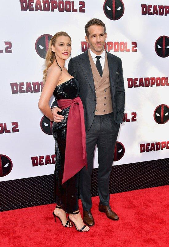 Стильный образ Блейк Лайвли покорил гостей премьеры фильма «Дэдпул 2» в Нью-Йорке