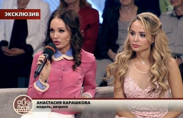 """Анастасия Барашкова вступила в открытый спор со звездным адвокатом в студии """"Пусть говорят"""""""