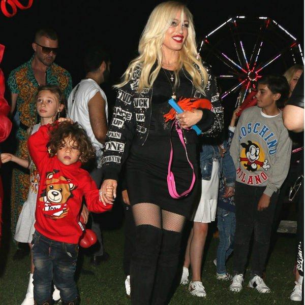 Дети Гвен Стефани растут настоящими модниками