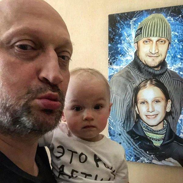 Гоша Куценко опубликовал редкую фотографию младшей дочери