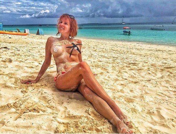 Наталья Штурм подверглась жесткой критике за обнаженные фото