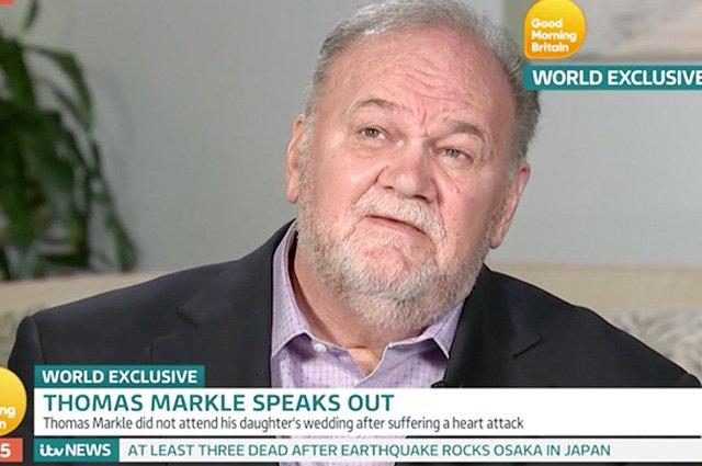 Меган Маркл не общается с отцом из-за королевы Елизаветы II