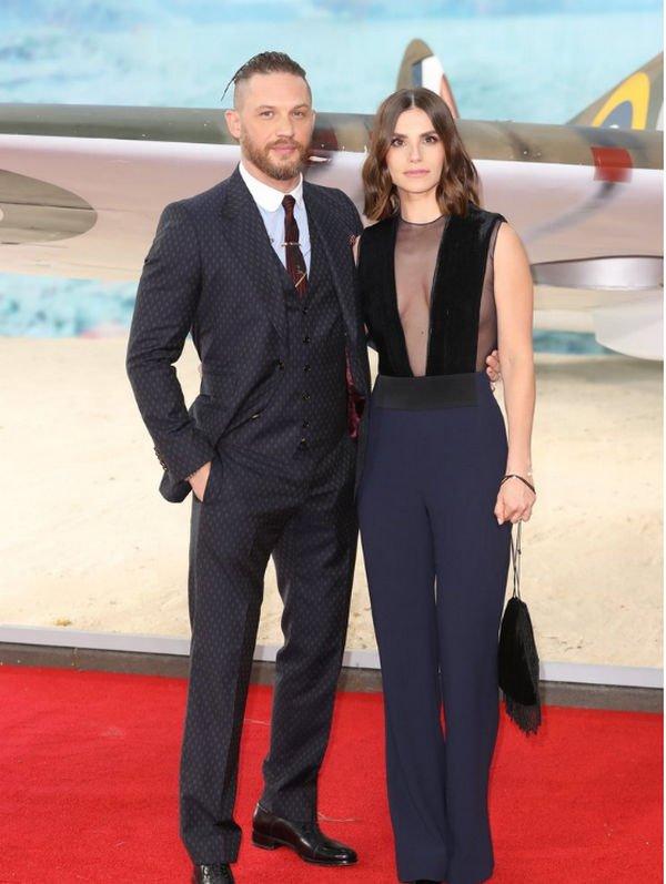 Супруга Тома Харди подарит ему второго ребенка