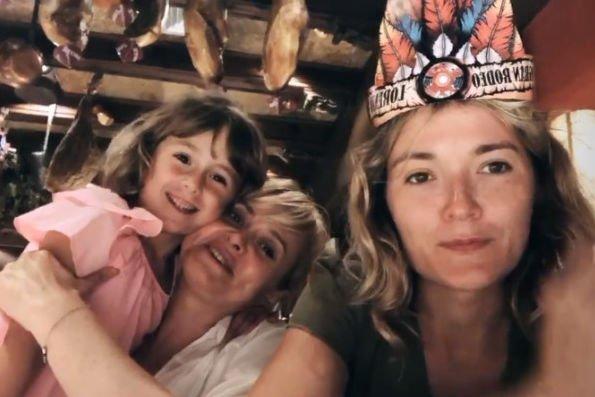 Анна Михалкова впервые показала лицо своей дочери