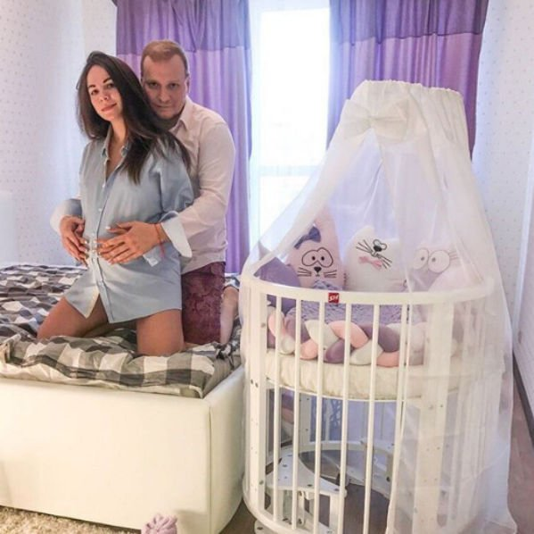 Сергей Сафронов уже определился с именем для будущего малыша