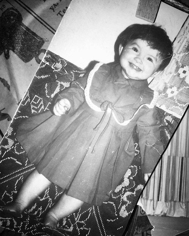 Надежда Грановская-Мейхер показала, какой милашкой была в детстве