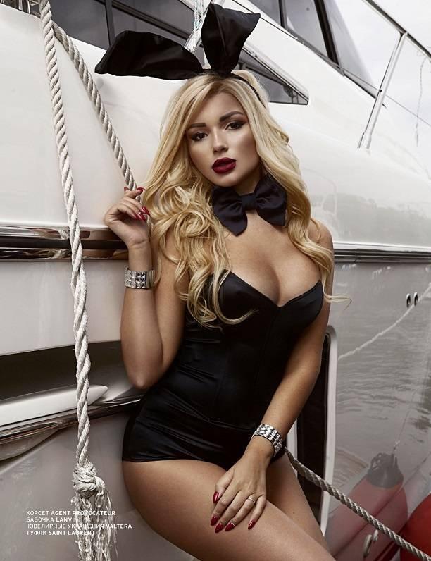 Российская модель Ася Пугачёва повторила успех Кэмерон Диаз на страницах Playboy