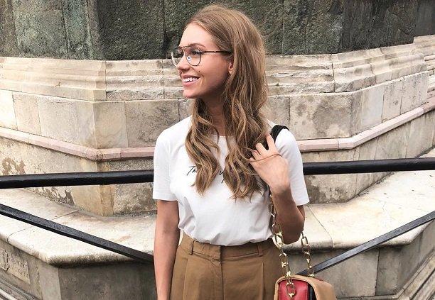 На отдыхе в Италии Кристина Асмус заметно набирает в весе