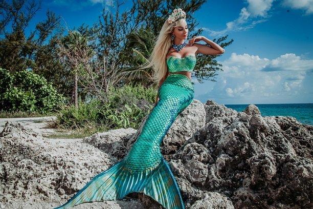 Русская Барби Таня Тузова  предстала в романтическом образе русалки