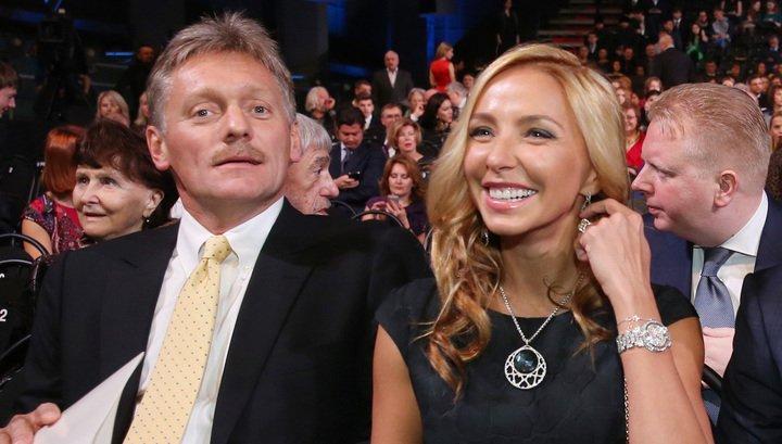 Татьяна Навка поздравила супруга Дмитрия Пескова с днем рождения стихами