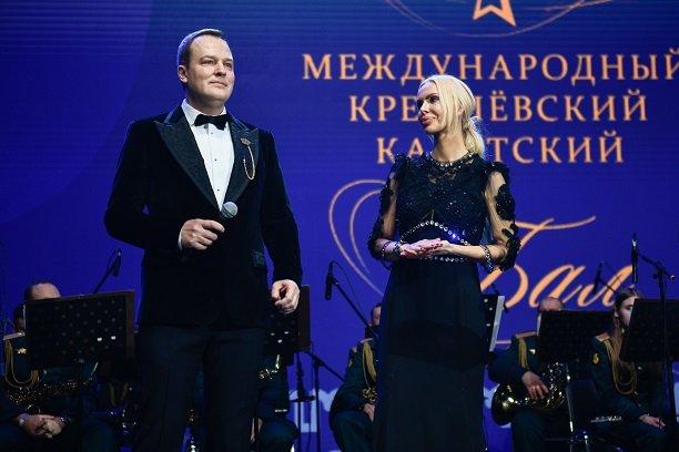 Алиса Лобанова поздравила участников Международного кремлевского кадетского бала
