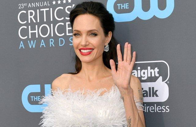Анджелина Джоли с детьми увлеклась скалолазанием