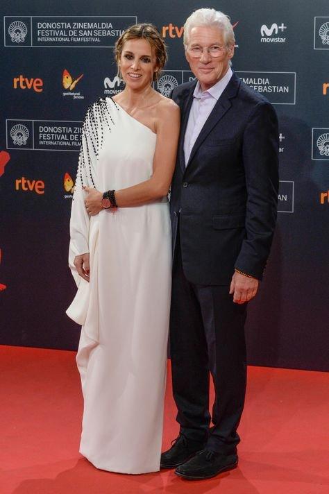69-летний Ричард Гир вновь стал отцом