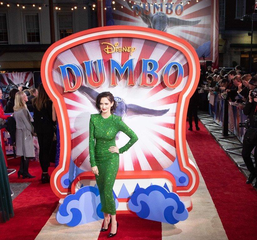 Ева Грин, Колин Фаррелл и другие звезды на гала-премьере фильма «Дамбо» в Лондоне