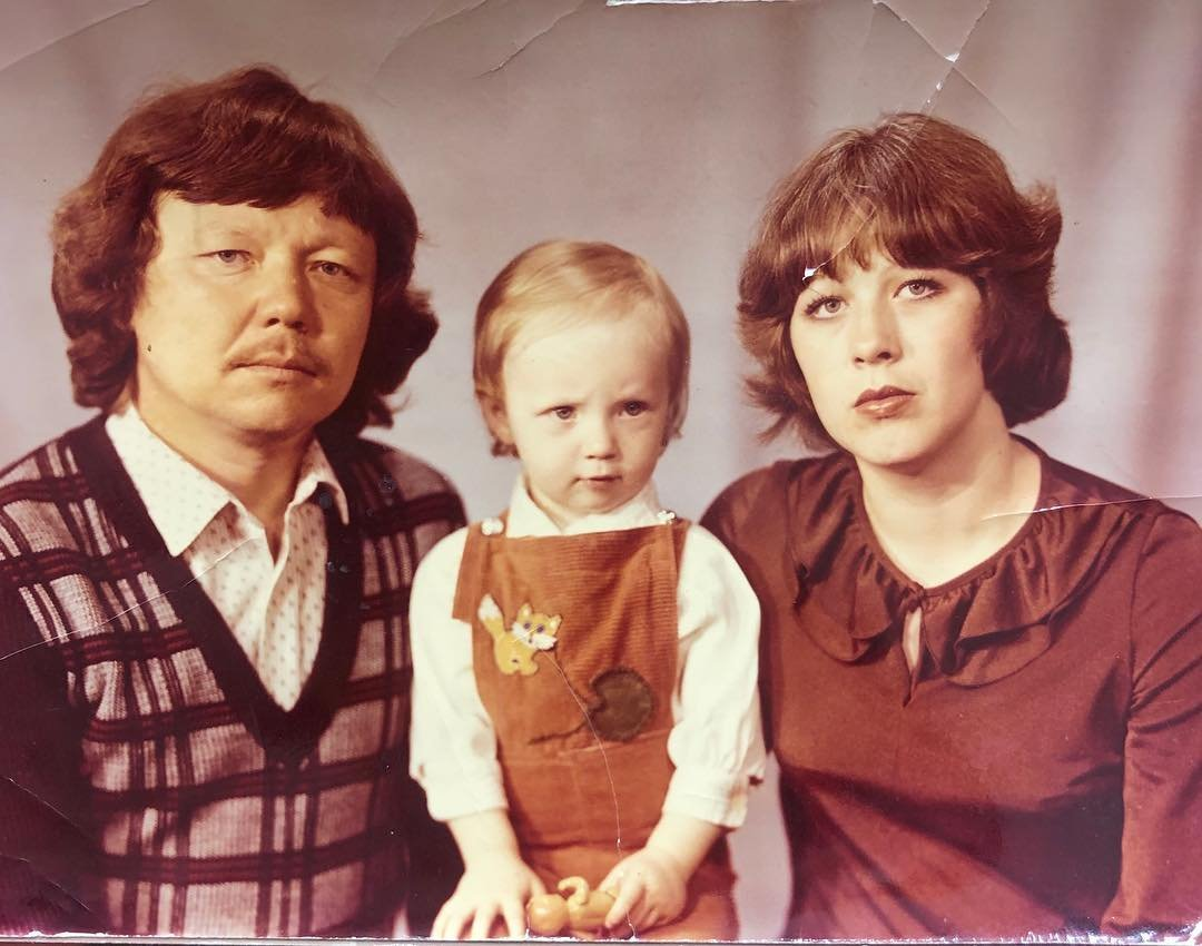 Альбина Джанабаева впервые показала своего папу