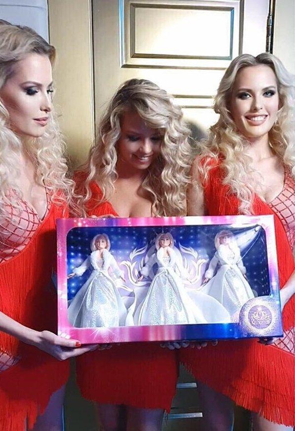У девушек из группы Queens появились кукольные двойники