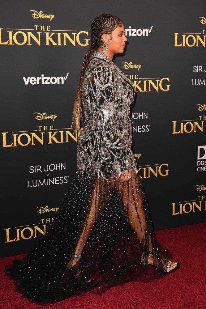 Просто блеск: Бейонсе в невероятном образе на премьере ленты «Король Лев»