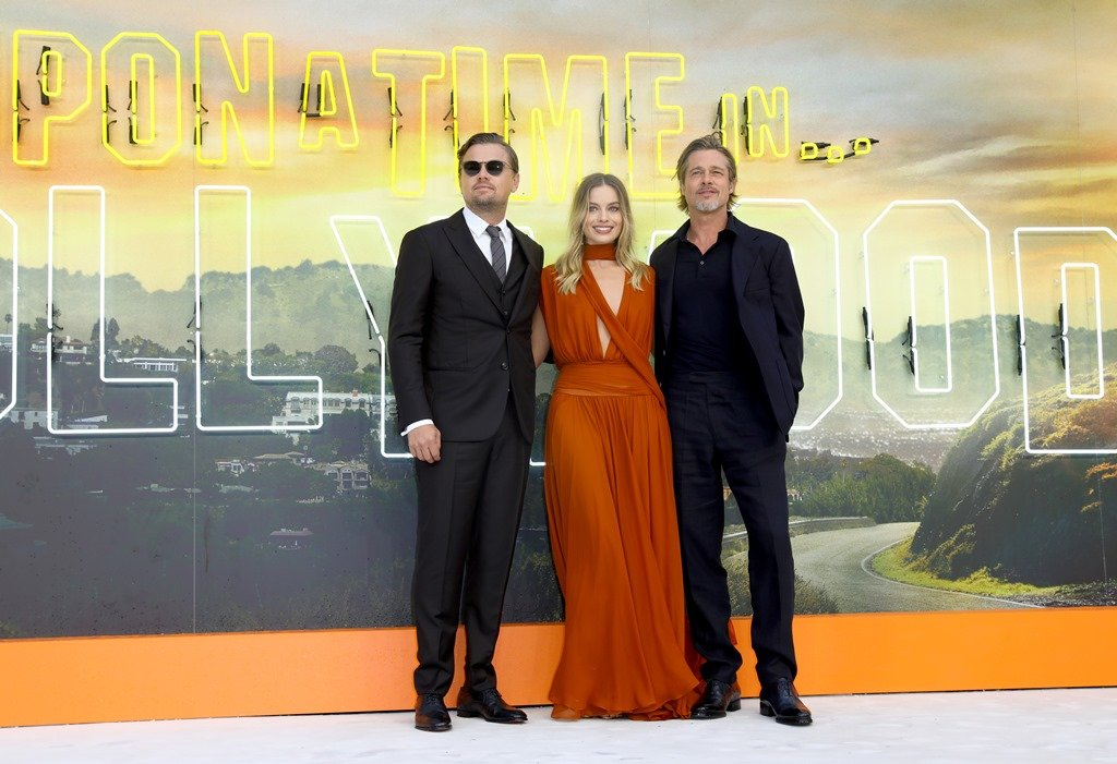 «Однажды... в Голливуде»: звезды фильма на европейской премьере в Лондоне